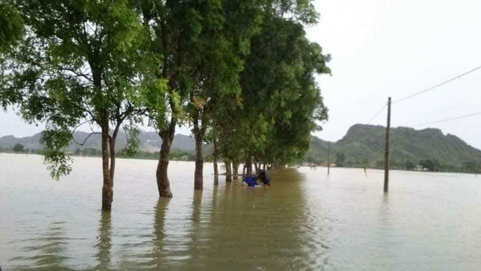 Lũ lụt ở Thanh Hóa, mưa lũ, ngập lụt ở Thanh Hóa, trại giam số 5