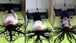 Dân mạng ngỡ ngàng với cô gái có mái tóc ma thuật