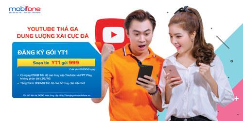 Học trực tuyến trên Youtube cực rẻ với 4G MobiFone