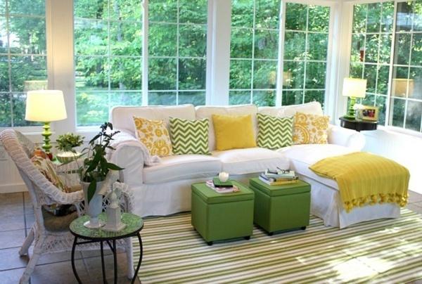 Gợi ý trang trí phòng khách nhỏ đẹp, dịu dàng đón Thu sang