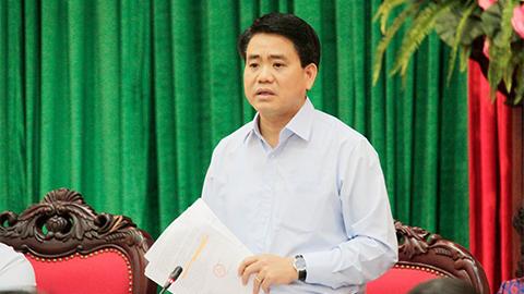Chủ tịch Hà Nội, Nguyễn Đức Chung, rác, rác thải, bãi rác Xuân Sơn