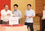 Lãnh đạo Chính phủ quyên góp ủng hộ khắc phục hậu quả mưa lũ