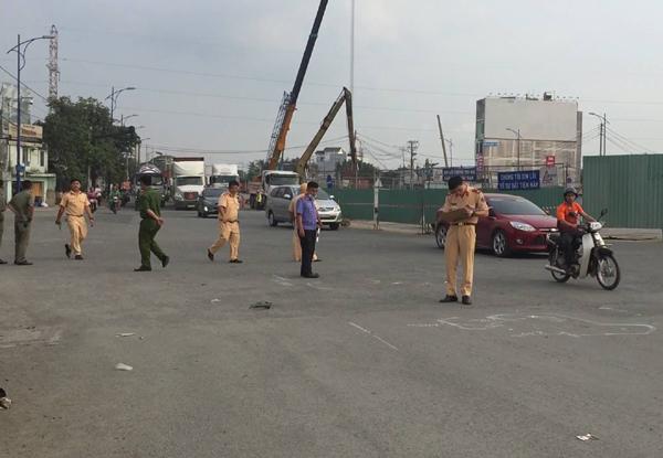 Người đàn ông bị xe ben cán chết ở vòng xoay 'tử thần' Sài Gòn