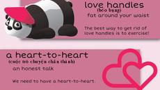 """10 thành ngữ với """"love"""" trong tiếng Anh"""