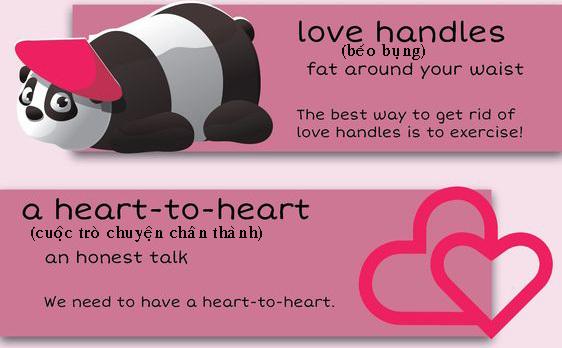 """Học tiếng Anh: 10 thành ngữ với """"love"""""""