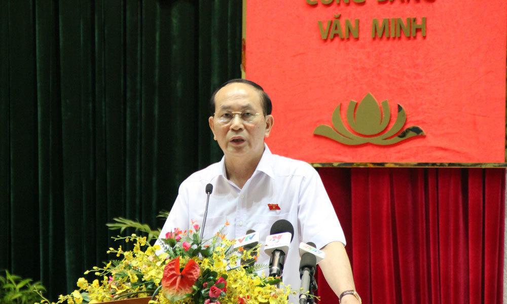 Chủ tịch nước, Trần Đại Quang, cử tri, TP.HCM