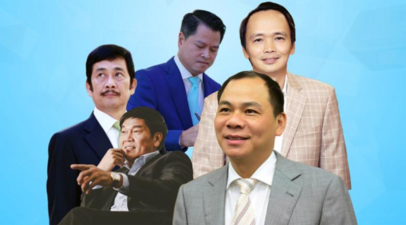 doanh nhân việt, doanh nhân, đại gia, mẹ chồng Tăng Thanh Hà, hồ xuân năng, phạm nhật vượng, trần đình long, huỳnh ức my, công chúa mía đường,