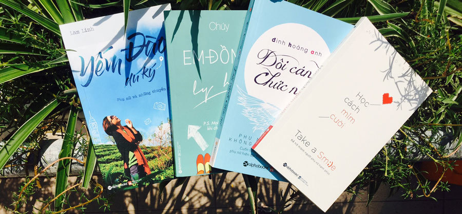 Những cuốn sách cho phụ nữ triệu nụ cười bình yên