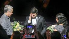 """Khi """"giọng ca nam opera số 1 Việt Nam"""" bật khóc"""