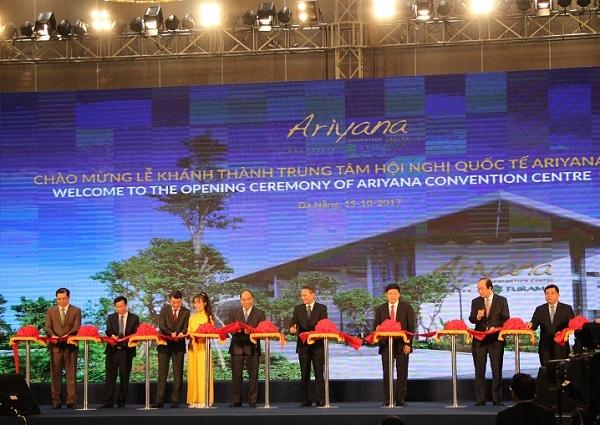 Khánh thành trung tâm hội nghị quốc tế phục vụ APEC