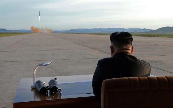tập trận, Triều Tiên, thử tên lửa