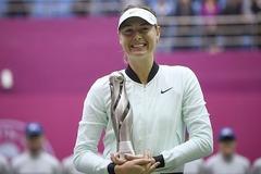Sharapova giành danh hiệu đầu tiên sau cú sốc doping
