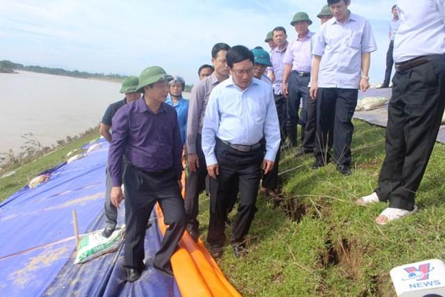 Đê xung yếu nguy cơ uy hiếp 440.000 hộ ở Thanh Hóa