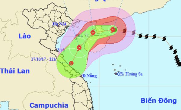 Thời tiết 16/10: Hà Nội giảm 10 độ, bão số 11 yếu nhanh