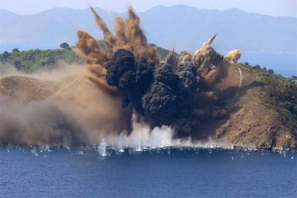 Vẻ đẹp tuyệt vời ở nơi Triều Tiên phóng tên lửa