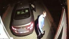 """Mất 60 giây, trộm cho xe BMW """"bốc hơi"""" khỏi gara"""