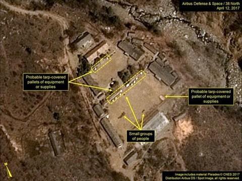 Tình hình Triều Tiên, Triều Tiên, bãi thử hạt nhân, bãi thử hạt nhân Triều Tiên