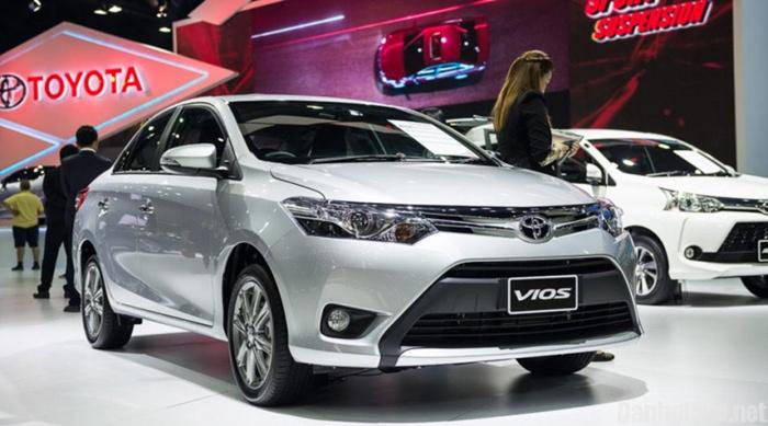 Toyota Vios, ô tô Toyota, ô tô giảm giá, xe cỡ nhỏ, ô tô giá rẻ