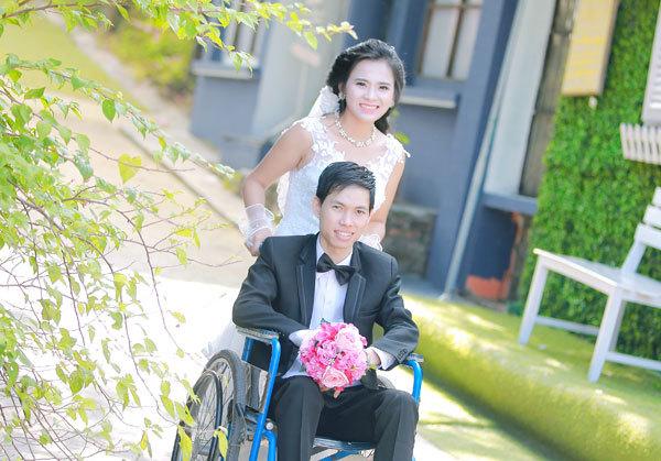 Tình yêu,Người khuyết tật,Kết hôn,Đám cưới