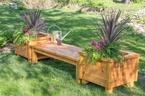 Tận dụng hộp gỗ để tô nét xanh tươi cho không gian sống