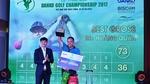 Golfer Hoàng Quân vô địch giải golf có tổng giải thưởng 20 tỷ đồng