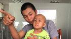 Bé gái 3 tuổi ung thư gan cầu cứu