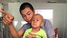 Bé gái 3 tuổi ung thư gan cầu cứu0