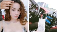 Hồ Ngọc Hà khoe thư tình viết tay mùi mẫn của Kim Lý
