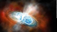 Phát hiện 2 ngôi sao va chạm tạo ra lượng lớn vàng trong vũ trụ