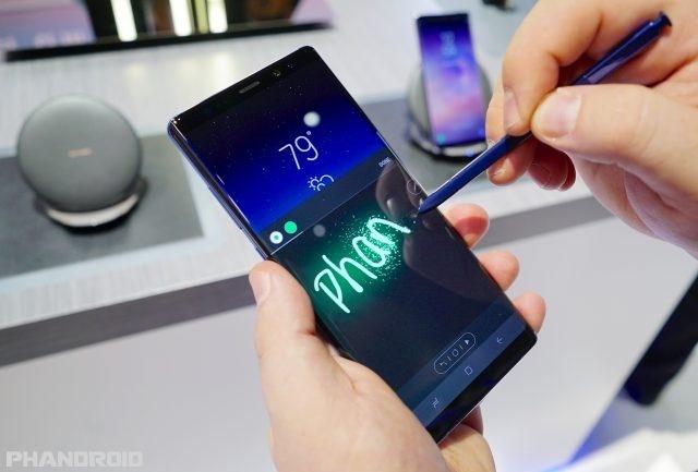 Galaxy Note9 sẽ cải tiến S-Pen, camera và màn hình