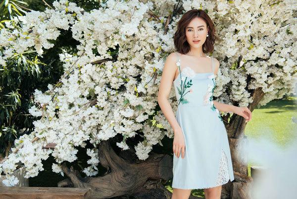 Cùng Ninh Dương Lan Ngọc chọn váy đẹp cho ngày Thu