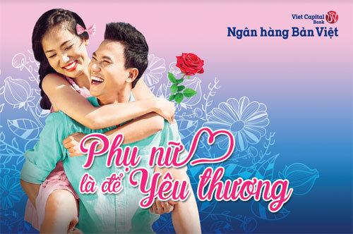 Bản Việt tặng 0,1% lãi suất khách nữ gửi tiết kiệm