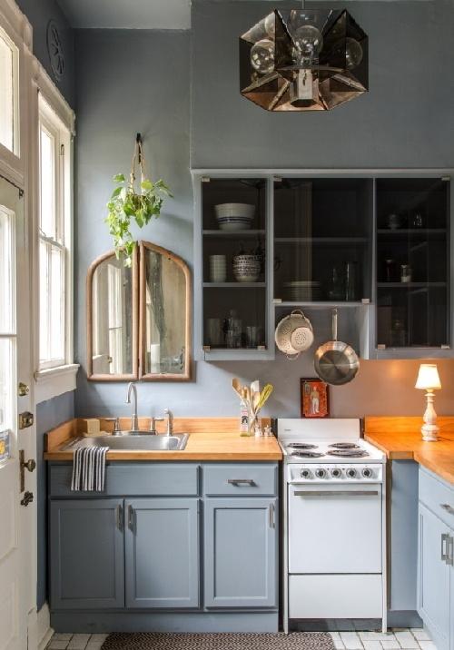 nhà bếp, bên trong xe nhà bếp, trang trí nhà