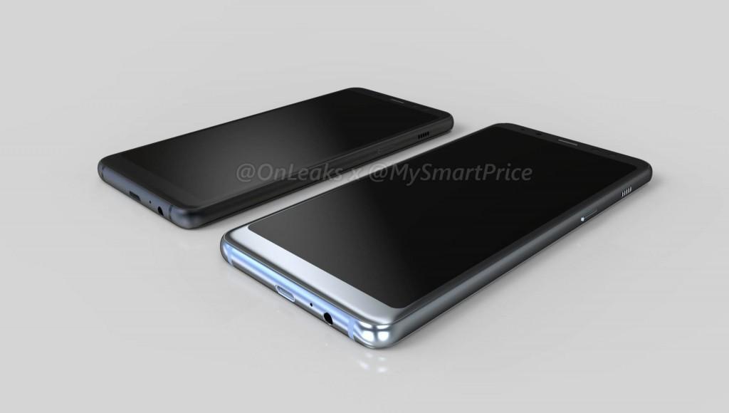 Galaxy A5, Galaxy A7 2018 đẹp không kém gì Note 8