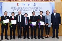 4 trường đại học đầu tiên của Việt Nam nhận chứng nhận kiểm định quốc tế
