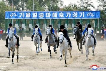 Bên trong trường đua ngựa giữa lòng Bình Nhưỡng