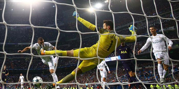 Lloris bắt 'lên thần', buộc Real cưa điểm Tottenham