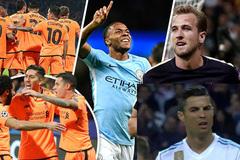C1: Ronaldo giận tím mặt và thách đố Pep gửi Mourinho