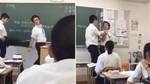 Bị mắng vì dùng máy tính bảng trong lớp, nam sinh người Nhật... đạp thầy giáo