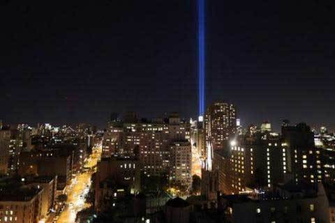At 9/11 memorial, a plea to remember US troops at war