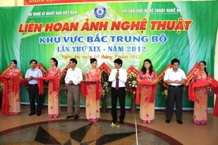 Photo exhibition of the central northern region held in Vinh City