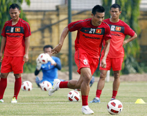National football team recruits new players