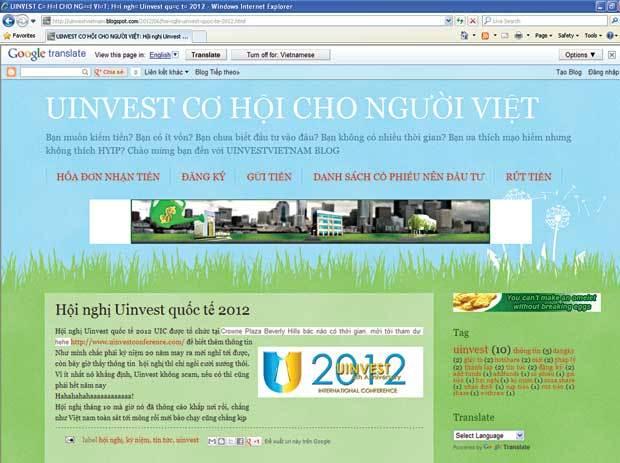 Vietnamese rush to play risky games, trading shares online