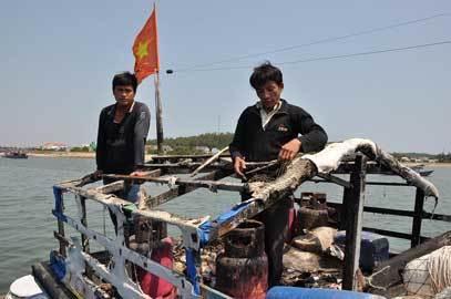 Trung Quốc; tàu cá; Lý Sơn; Hoàng Sa
