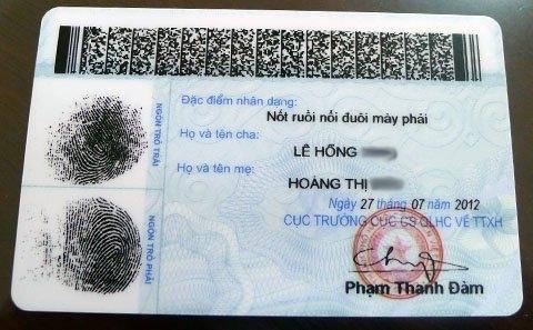 thẻ công dân