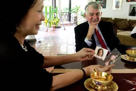 Cựu ứng viên TT Mỹ thăm gia đình cố Thủ tướng Võ Văn Kiệt