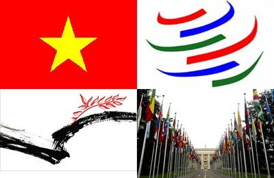 gia nhập WTO, kinh tế, nông lâm thủy sản, công nghiệp xây dựng, dịch vụ, xuất khẩu, Bản báo cáo, chính sách.