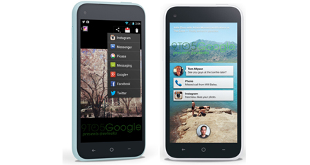 Facebook, smartphone, HTC, Android