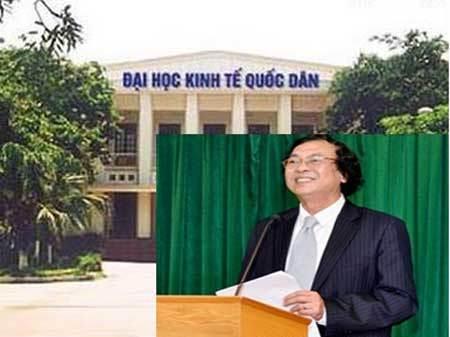 ĐH, Kinh tế Quốc dân, Nguyễn Văn Nam, hiệu trưởng, Bộ GD-ĐT