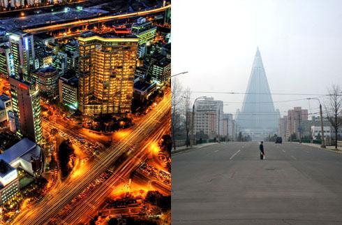 GDP Triều Tiên bằng 5% Hàn Quốc